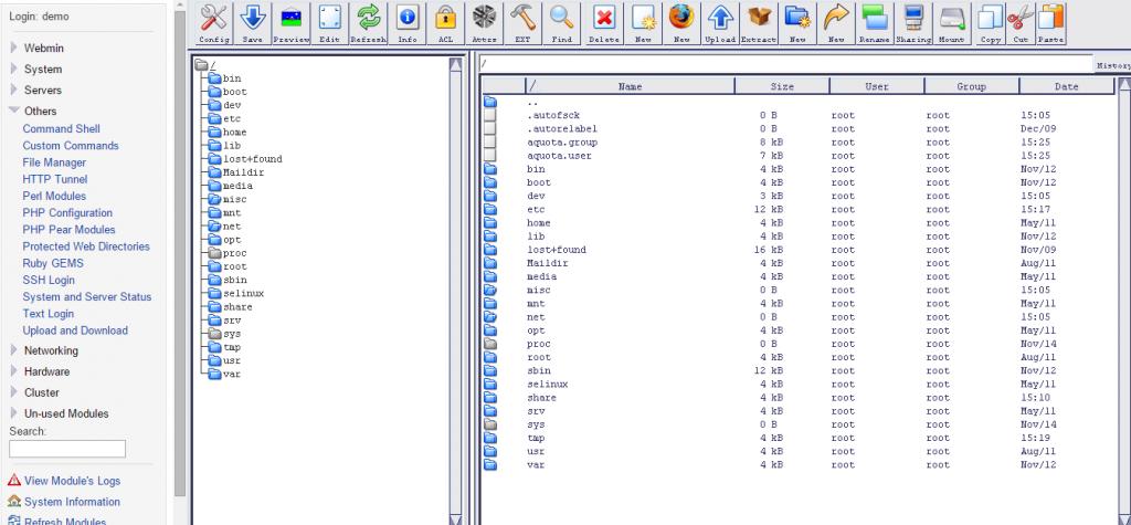 webminfiles